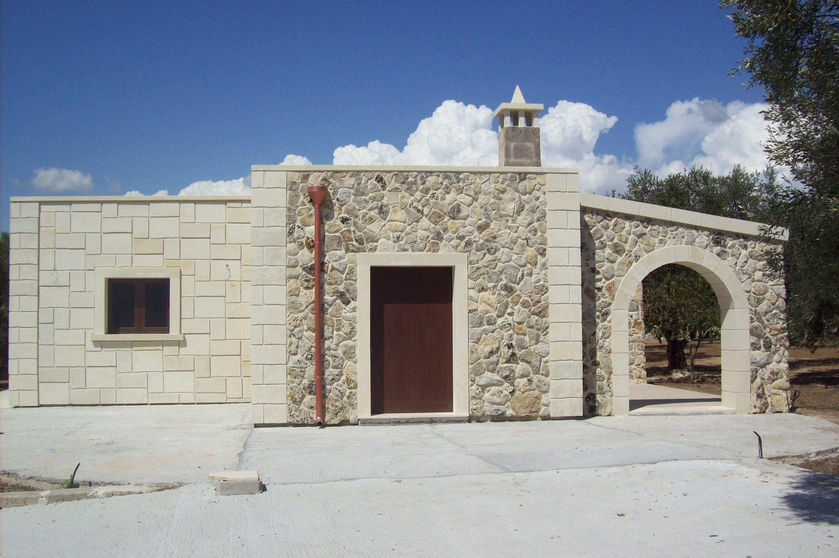 La pietra leccese pietra leccese estrazione e for La pietra tradizionale casa santorini