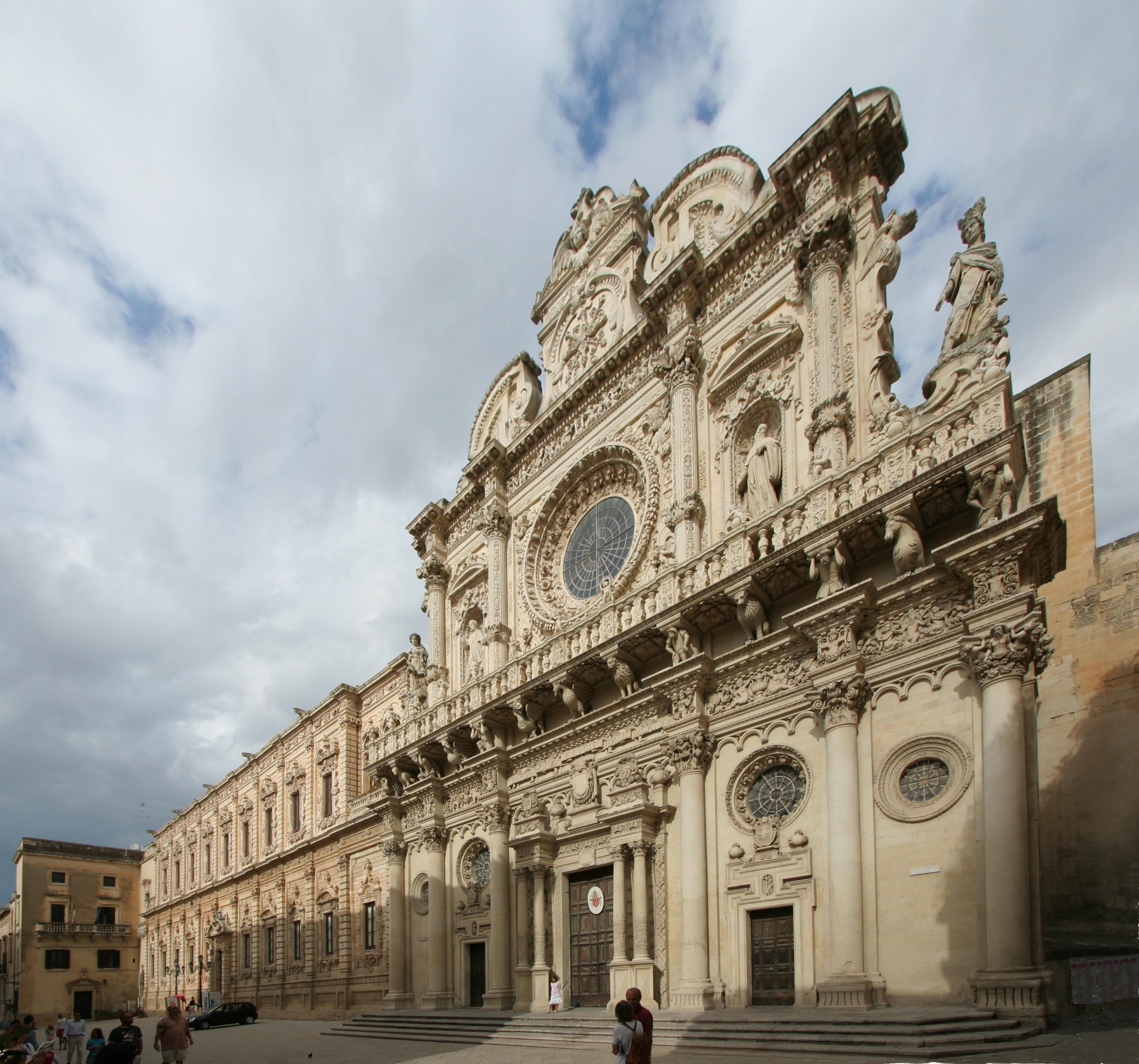 Architetti Famosi Lecce pietra leccese, maestranze ed opere del barocco leccese